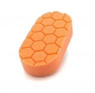 Pad đánh bóng cầm tay Chemical Guys Hex-Logic Medium Cutting Hand Applicator Pad, Orange (3x6x1
